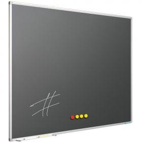 Tableau Craie Gris Anthracite - 120x150 cm