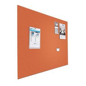 Prikbord bulletin - Zwevend - 120x200 cm - Oranje 1