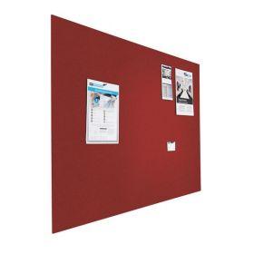 Prikbord bulletin - Zwevend - 60x90 cm - Rood 1