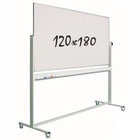 verrijdbaar whiteboard 120 x 180 cm