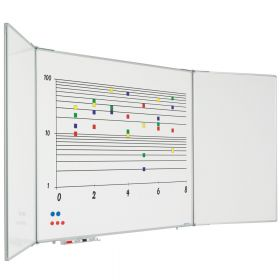 inklapbaar whiteboard 120x150 cm