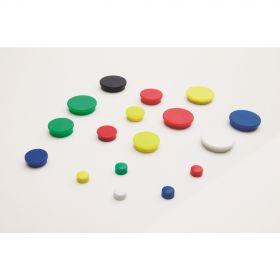 Aimants pour tableau blanc 25 mm - Assortiment - 10 pièces