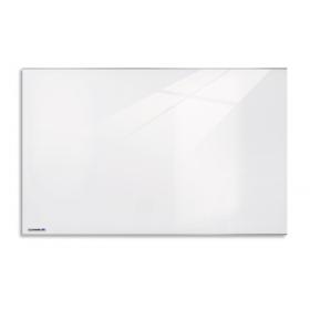 glasbord van helder wit glas