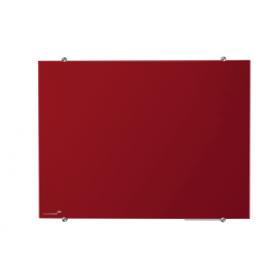 glasbord 90x120 cm rood