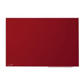glassboard 60x80 cm - rood