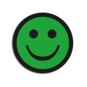 Aimants Smiley's Basic Vert (5 pièces)