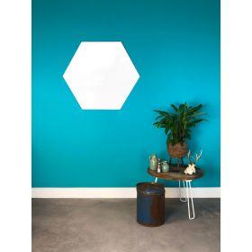 Tableau blanc sans cadre - Hexagone - 100 cm