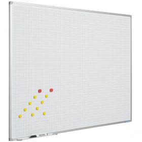 Tableau blanc à carreaux, 120 x 200 cm