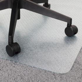 vloerbeschermer bureaustoelmat transparant 90x120 cm - voor tapijt