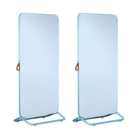 Chameleon Mobile dubbelzijdig whiteboard 89 x 192 cm - Blauw