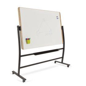 Rocada Natural whiteboard verrijdbaar