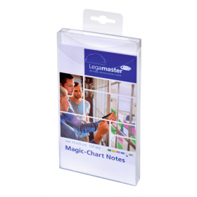 Magic-Chart Notes 10x20 cm - Wit - 100 stuks 1
