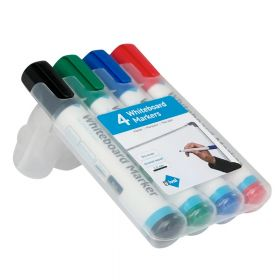whiteboard markers set van 4