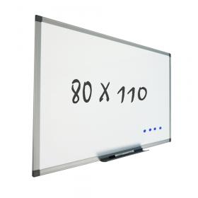 Whiteboard wandmontage 80x110 cm