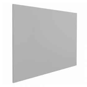frameloos whiteboard grijs 100x200 cm