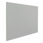 Tableau blanc sans cadre - 100 x 100 cm - Gris