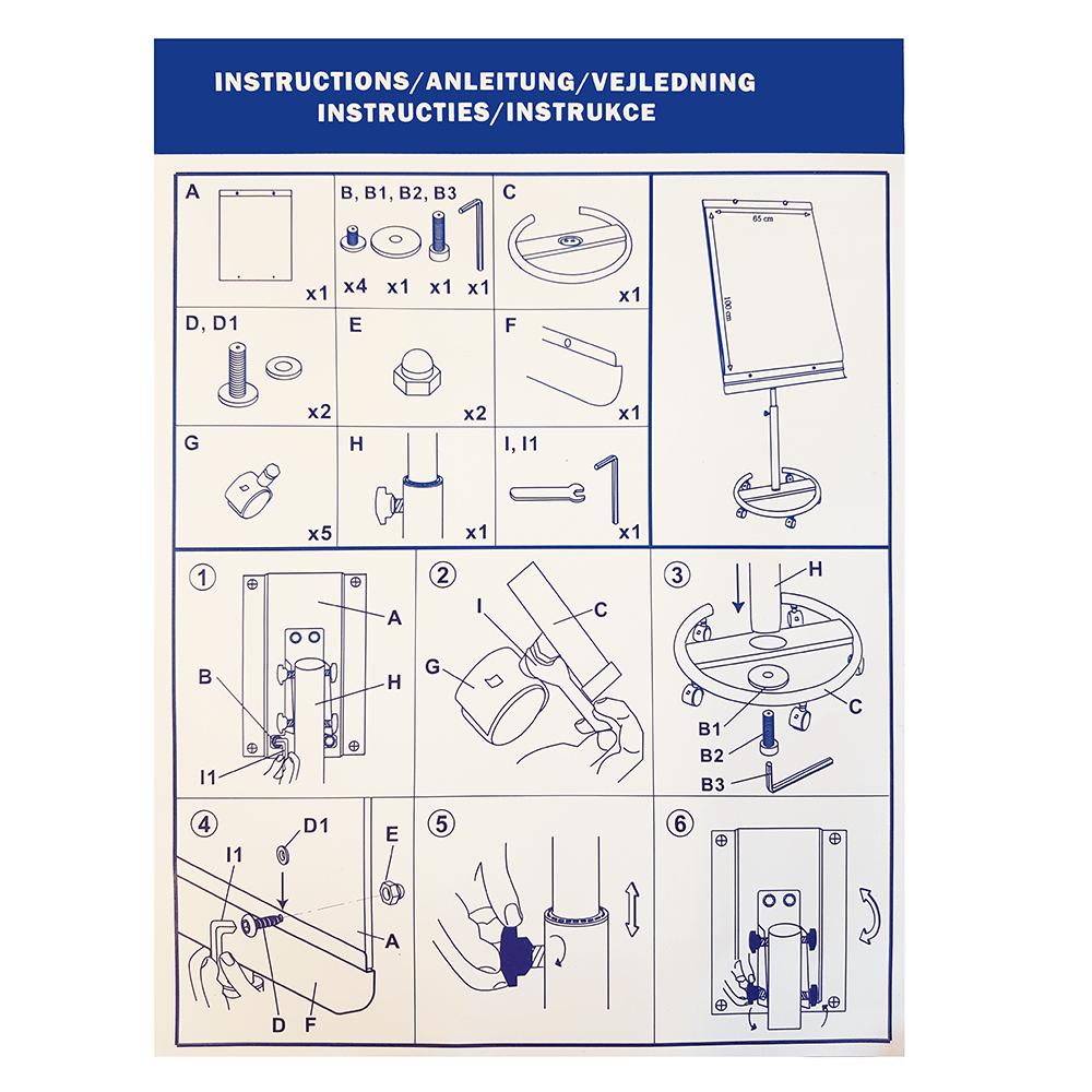 Flipover Instructies